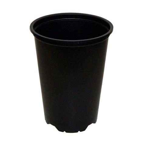 Black Flower Pots Black Plastic Pot 5 Quot