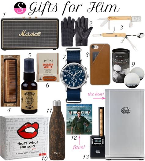 best gifts 2017 for him gift guide 2017 gifts for him styled to sparkle
