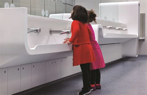 Royal ontario museum washroom design by canadian architecture firm