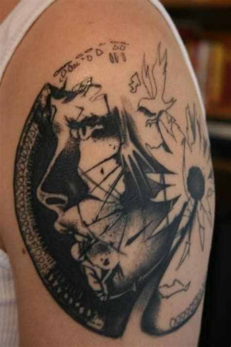 really cool tattoos this is actually really cool lol fort apache