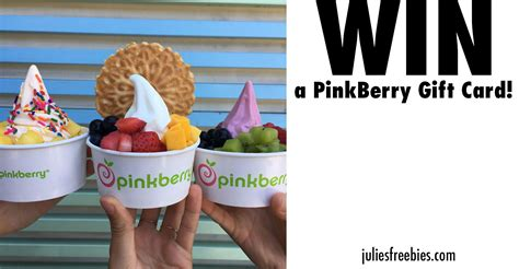 Pinkberry Gift Card - win a pinkberry gift card freebies list freebies by mail free sles by mail