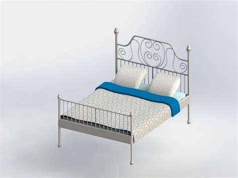 bett 3d bed bett 3d model stl dwg sldprt sldasm slddrw cgtrader