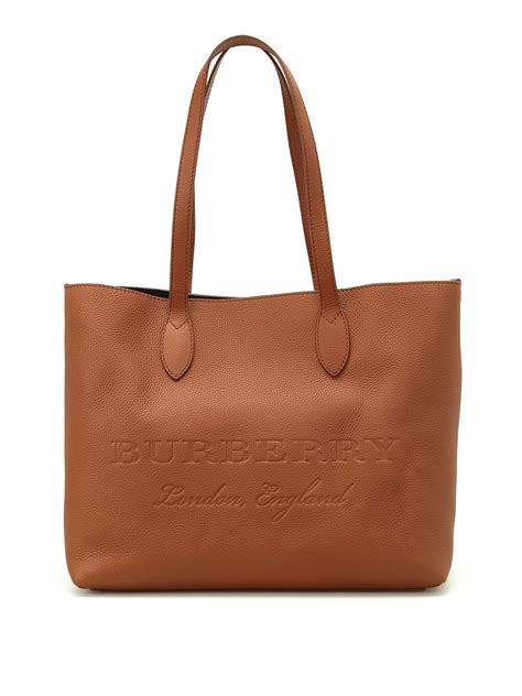 Tote Bag Brown burberry remington brown leather large tote totes bags