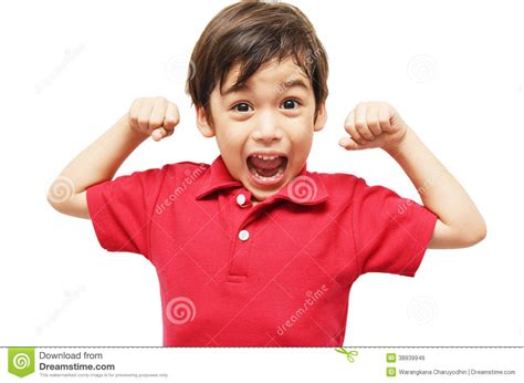 boys kleiner little boy showing his muscles stock photo image 38939946
