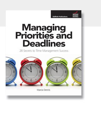 skillpath resources managing priorities and deadlines