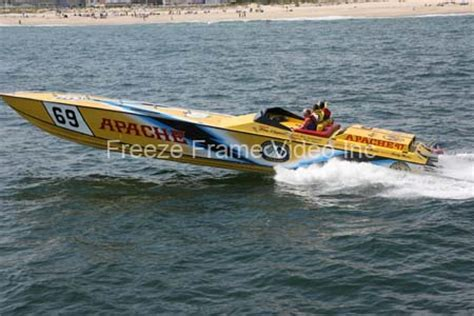 cigarette boat racing flip banana boat racing