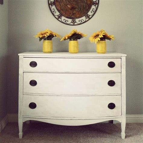 Reburbished Dresser From My Spare Room Painted With Linen