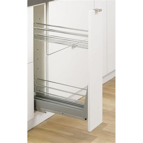 Kitchen Cabinets Bunnings by Kaboodle 150mm 2 Tier Soft Close Pullout Baskets