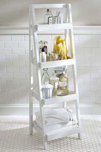 bathroom ladder shelf white 1000 ideas about ladder shelf decor on pinterest ladder