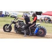 Insane V8 Powered Dirt Drag Motorcycle Racing – America