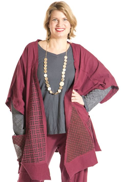 Dash Boutique 07 Collection Hollyscoop by Boxy Layer Cardigan Printed Blue Fish Clothing Blue Fish