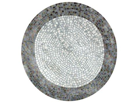 round mosaic pattern ideas round rug with geometric shapes roman pond mosaic circular