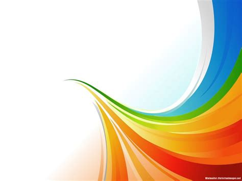 Rainbow Abstract Powerpoint Background Minimalist Abstract Powerpoint Background