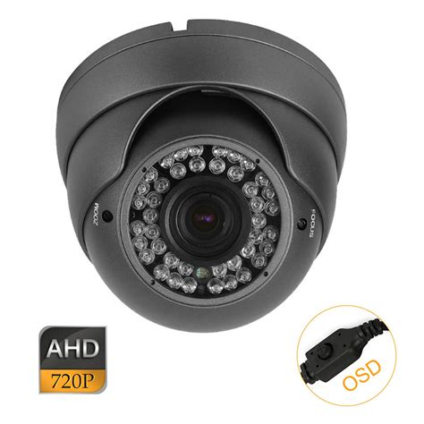 Cctv Ahd cctv ahd system 1 0mp 720p osd 2 8 12mm varifocal lens indoor metal dome one stand