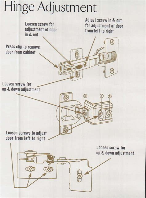 how to adjust kitchen cabinet hinges 28 kitchen cabinet door hinges adjustments how to
