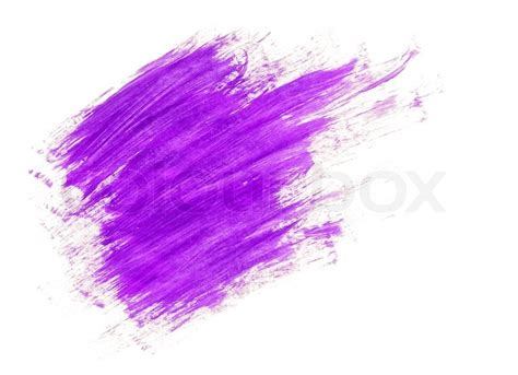 how to paint acrylic without brush strokes lilac acrylic paint brush strokes stock photo colourbox