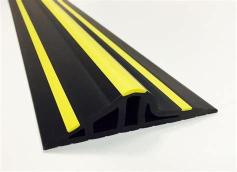 garage door rubber floor seal 30mm black yellow rubber garage threshold seal ja seals