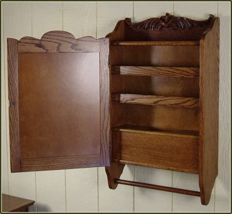 oak medicine cabinet without mirror built in medicine cabinet with mirror home design ideas