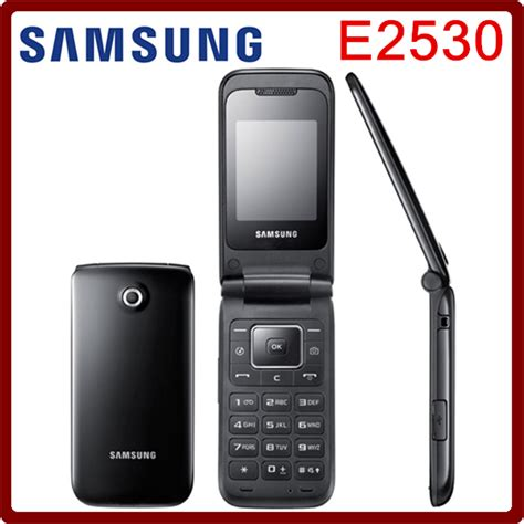 aliexpress mobile phones e2530 original unlocked samsung e2530 mobile phone 2inch