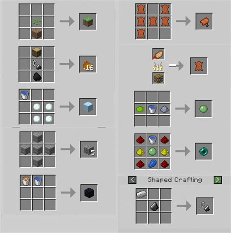 The Recipe Thing by 12 Best Photos Of Things You Can Craft In Minecraft