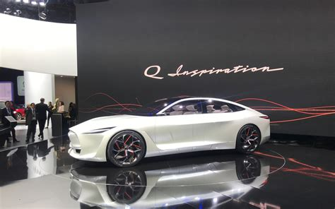 who makes the infiniti car infiniti makes statement in detroit with q inspiration