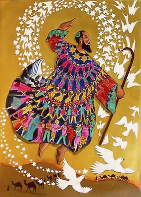coat of many colors in the bible joseph s coat talis bag needlepoint kit
