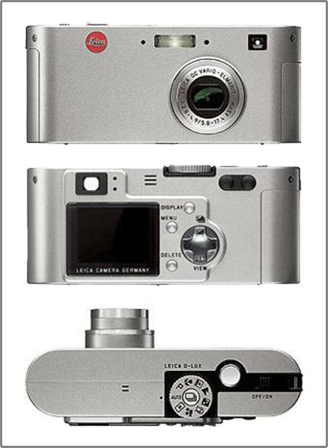 leica d lux: digital photography review