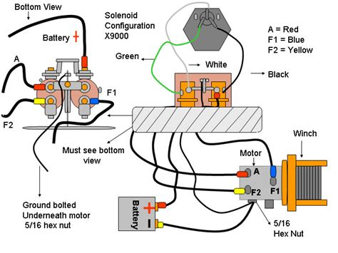 wiring diagram for 12 volt winch get free image about