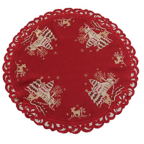 red christmas runner red and gold christmas car interior design