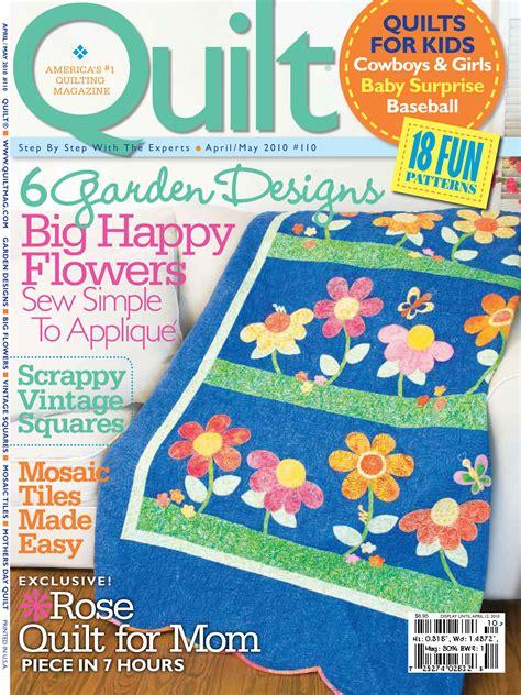 Quilts Magazine by Quilt Magazine