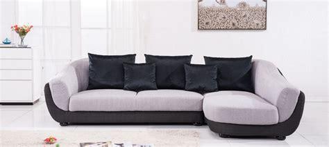 canap 233 d angle en tissu gris a prix