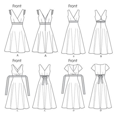 empire line pattern making easy misses sleeveless empire waist sun dress sewing