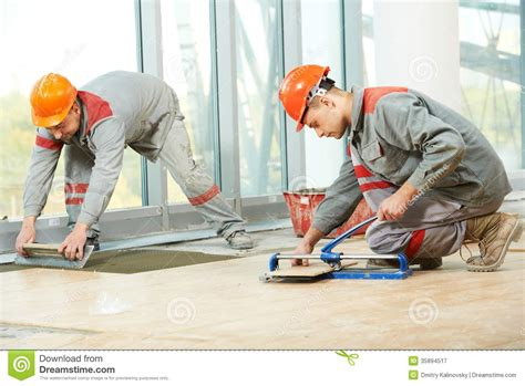 Decorating Program two tilers at industrial floor tiling renovation royalty