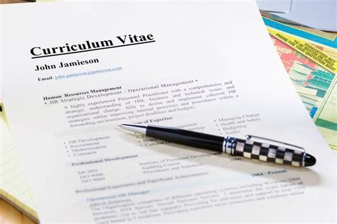 Resume Samples Of Skills by Curriculum Vitae Cv Format