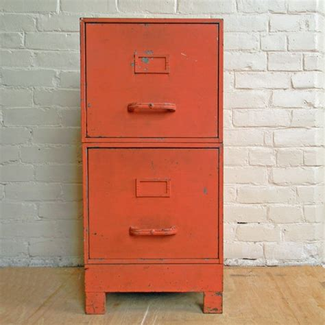 Paint Metal File Cabinet by Industrial Coral Painted Metal File Cabinet Deco Shop