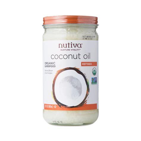Organic Cocnut Detox After Flu Vaccine by Nutiva Organic Refined Coconut Thrive Market