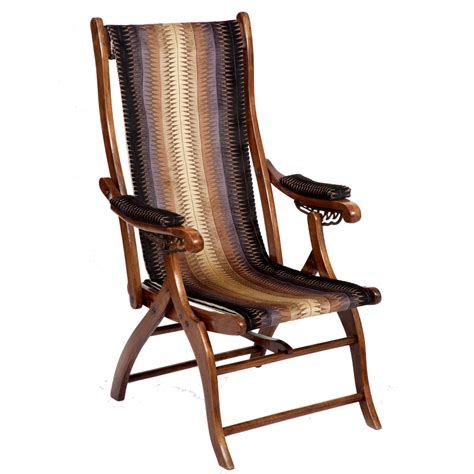 reclining foldable chair victorian reclining folding caign chair the unique