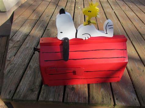 dog house mailbox handmade custom designed cartoon dog and bird functional mailbox crafts cartoon and