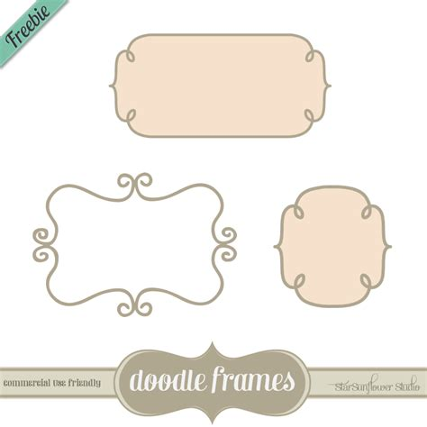 free doodle frames 350 free fabulous labels borders and frames clothed in