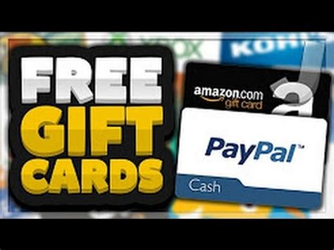 Get Free Gift Cards Online Without Completing Offers - get free gift cards online without completing offers youtube