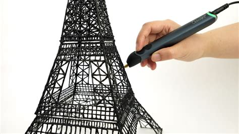 3d doodling pen lets you draw your own objects 3doodler gives their 3d printing pen a sleek redesign with
