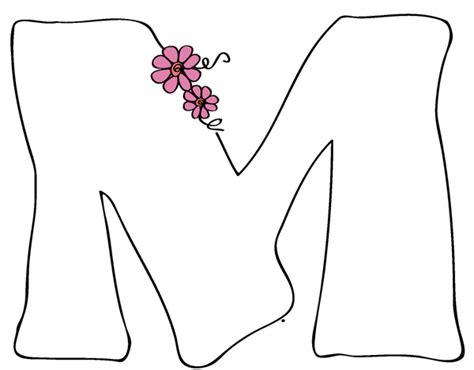 moldes de letra m moldes de letra de la m imagui
