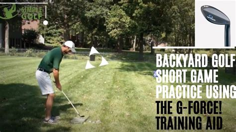 golf backyard practice golf backyard practice game and stop chipping yips with