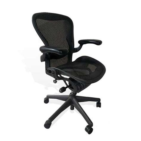 herman miller used carbon aeron chairs office furniture