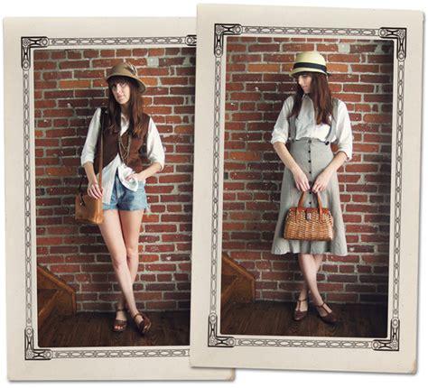 Model Rambut Pria 70an by Til Cantik Dengan Model Baju Vintage Wanita
