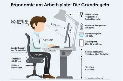 Lebenslauf Bild Abstand ergonomie am arbeitsplatz tipps f 252 rs b 252 ro karrierebibel de