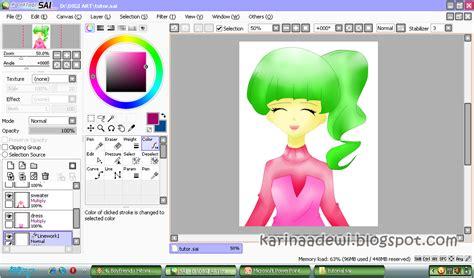 tutorial menggambar manga dengan sai miyazaki karin s blog tutorial digital art menggambar