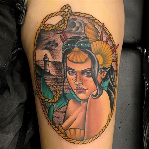 traditional mermaid tattoo traditional mermaid best ideas gallery