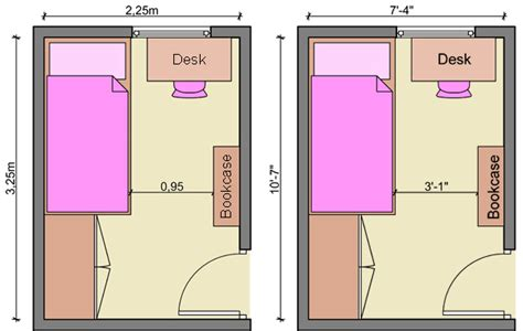 planning a room layout kid s bedroom layouts with one bed