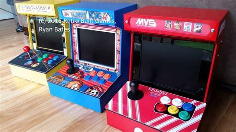 mini arcade cabinet kit diy arcade cabinet kits more mini jamma arcade
